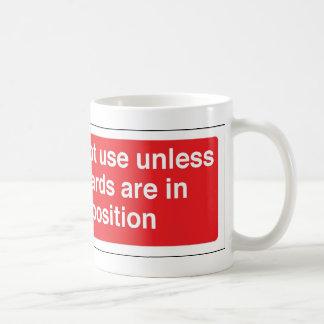 位置の監視 コーヒーマグカップ