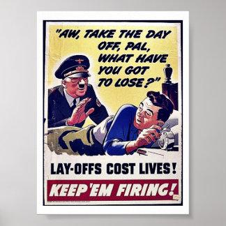 位置のOffsの費用の生命! ポスター