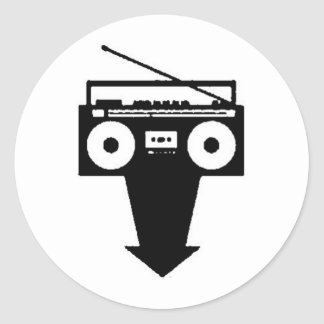 低いラジオ ラウンドシール