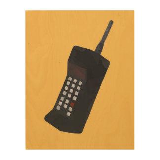 低い多トラップの電話 ウッドウォールアート