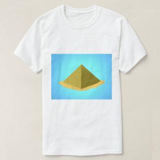 低い多ピラミッド Tシャツ