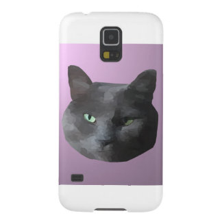 低い多黒猫 GALAXY S5 ケース