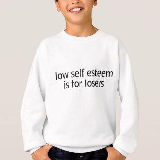 低い自己 スウェットシャツ