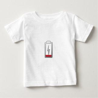 低い電池! ベビーTシャツ