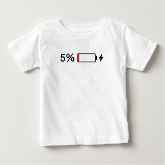 低い電池 ベビーTシャツ