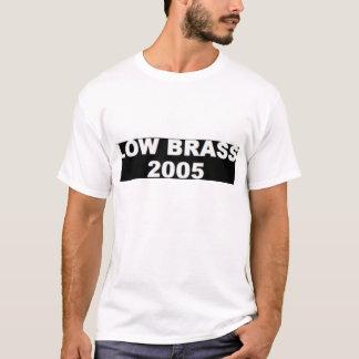 低い黄銅2005年 Tシャツ
