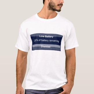 低いIphone電池 Tシャツ