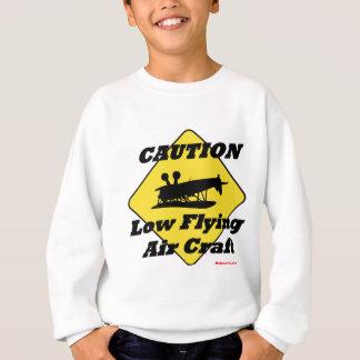 低く飛んでいるな空気技術 スウェットシャツ