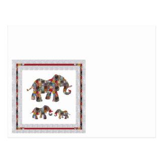 低価格のSpecialSIZESはNVN480象動物を梳きます ポストカード