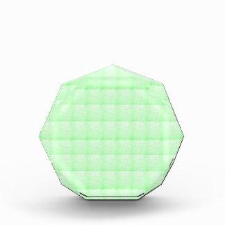 低価格水晶輝きの緑の挨拶のチャーム 表彰盾