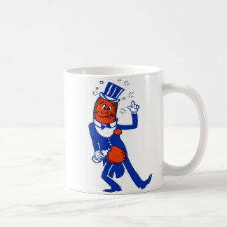 低俗なヴィンテージによって飲まれるホットドッグ コーヒーマグカップ