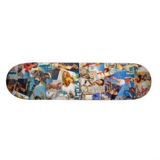 低俗なBitsch: 破壊された女性のカーボーイはPIn持ち上げます スケートボード