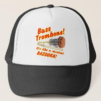 低音のトロンボーンのミュージカルのバズーカ キャップ