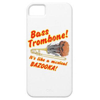 低音のトロンボーンのミュージカルのバズーカ iPhone SE/5/5s ケース