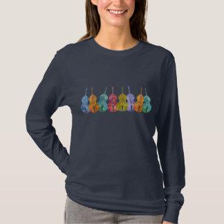 低音の虹 Tシャツ