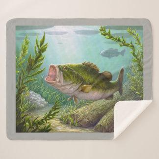 低音の魚 シェルパブランケット