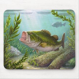 低音の魚 マウスパッド