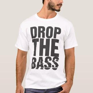低音を落として下さい Tシャツ