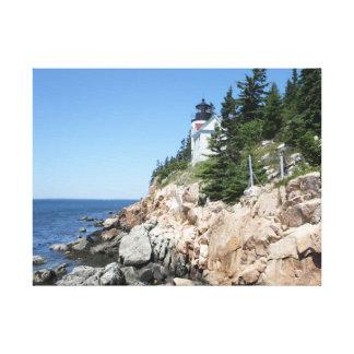低音港の灯台2 キャンバスプリント