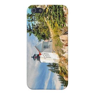 低音港の頭部の灯台、メイン iPhone 5 カバー