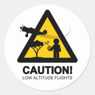 低高度飛行 ラウンドシール