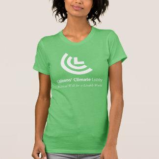 住みよい世界の女性緑のための政治的な意思 Tシャツ