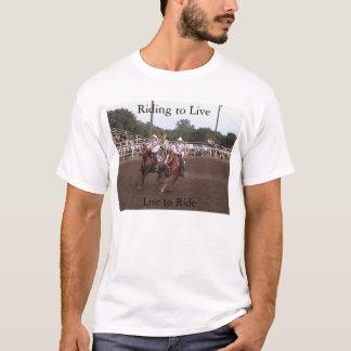 住む乗車 Tシャツ