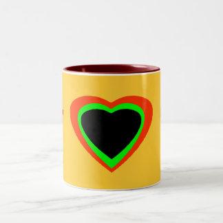 住む単語 ツートーンマグカップ