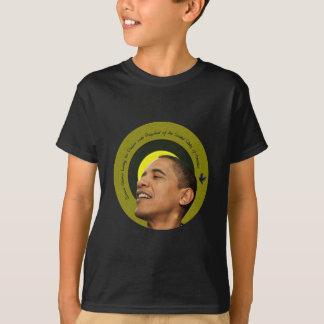 住んでいるバラック・オバマ夢のティー Tシャツ