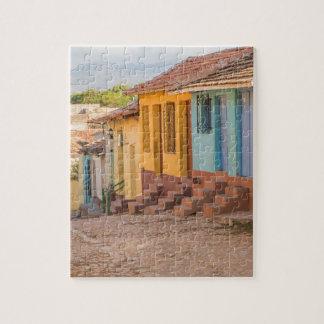 住宅の家、トリニダード、キューバ ジグソーパズル