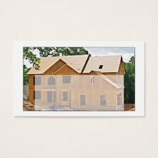 住宅建築業者または建築家のスタイル 名刺