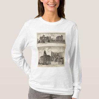 住宅、アビリン、カンザス Tシャツ