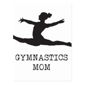 体操のお母さん ポストカード