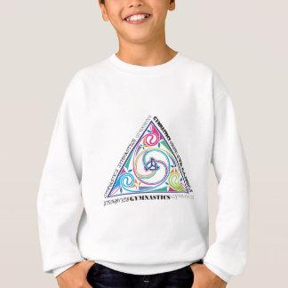 体操のケルト人の三角形 スウェットシャツ