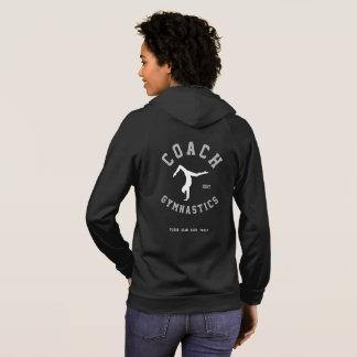 体操のコーチのジャケット パーカ