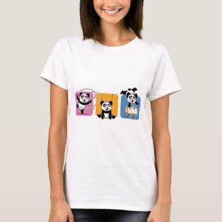 体操のパンダ Tシャツ