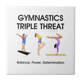 体操の三重の脅威 タイル