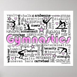 体操の単語2 ポスター