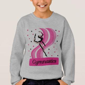体操の跳躍 スウェットシャツ