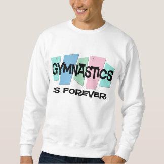 体操は永遠です スウェットシャツ