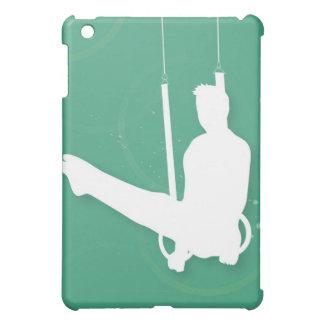 体操を行っている人のシルエット iPad MINI CASE