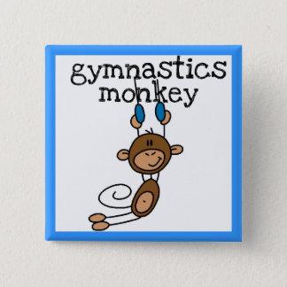 体操猿 缶バッジ