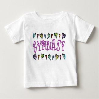体育専門家のハート ベビーTシャツ