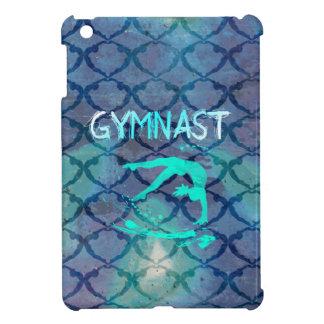 体育専門家種族パターン青 iPad MINI CASE
