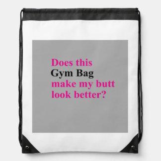 体育館のエクササイズのバッグ ナップサック