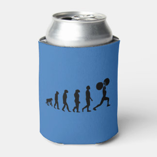 体育館のボディービルダーの進化の機構 缶クーラー