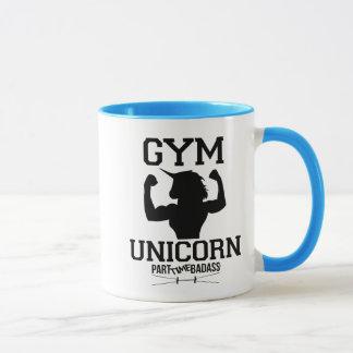 体育館のユニコーンのコーヒー・マグ マグカップ
