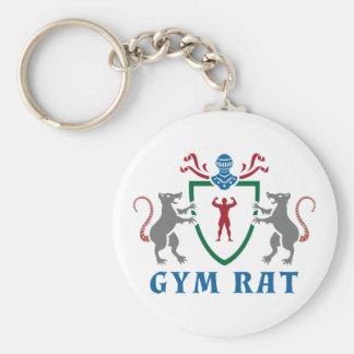 体育館のラットの紋章Keychain キーホルダー