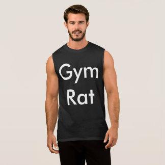 体育館のラット 袖なしシャツ