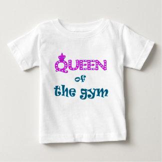 体育館の女王 ベビーTシャツ